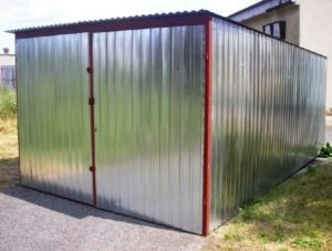 гараж на металлолом